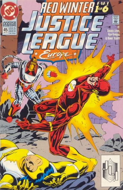 Justice League Europe Vol 1 45