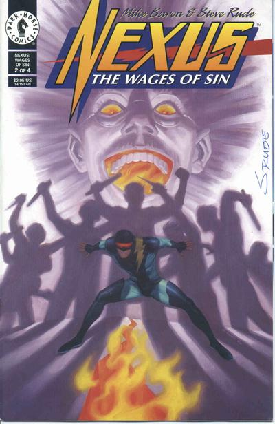 Nexus: The Wages of Sin Vol 1 2