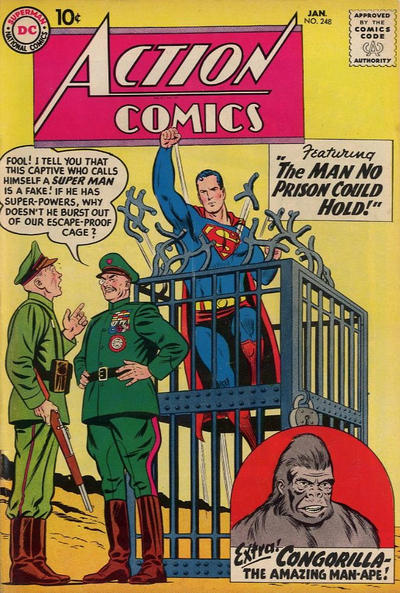 Action Comics Vol 1 248