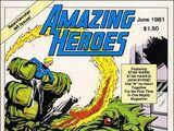 Amazing Heroes Vol 1