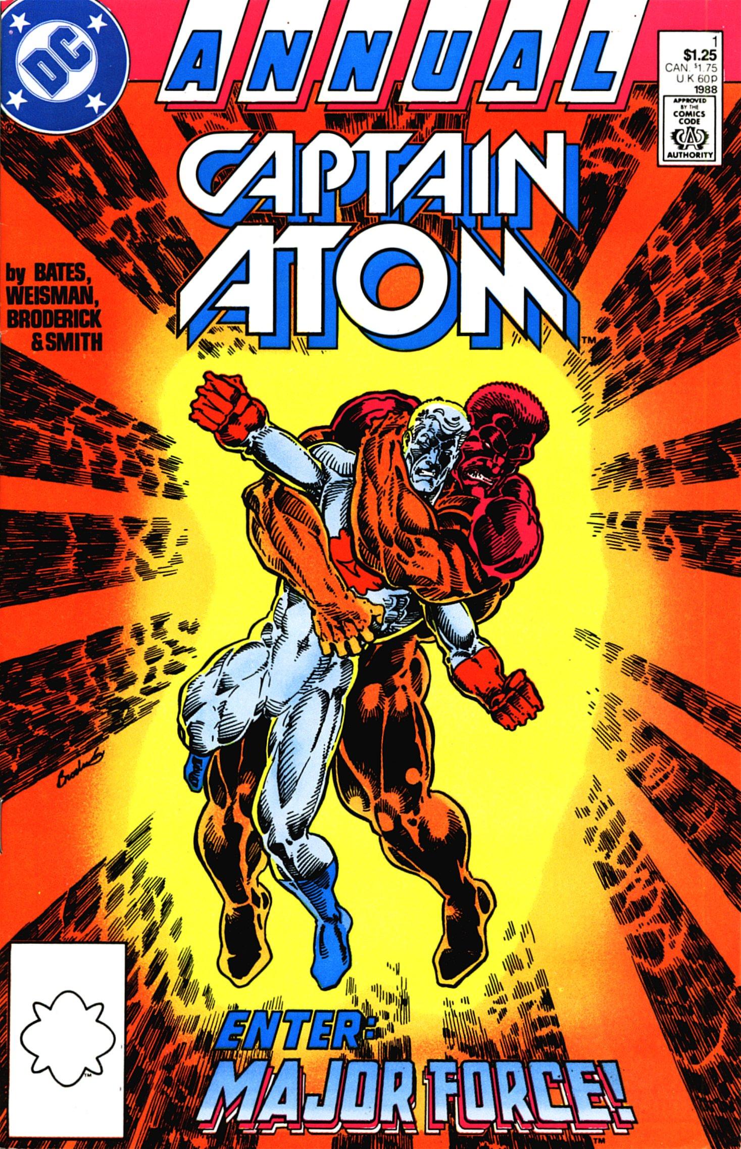 Captain Atom Annual Vol 2 1