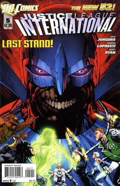 Justice League International Vol 3 5
