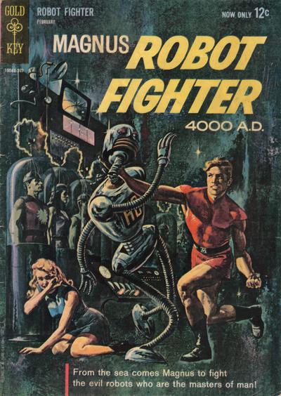 Magnus, Robot Fighter Vol 1 1