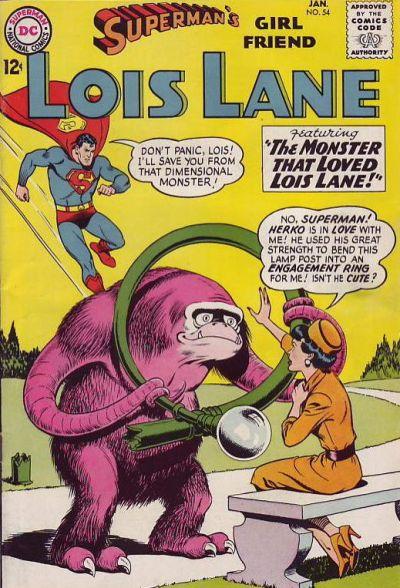 Superman's Girlfriend, Lois Lane Vol 1 54