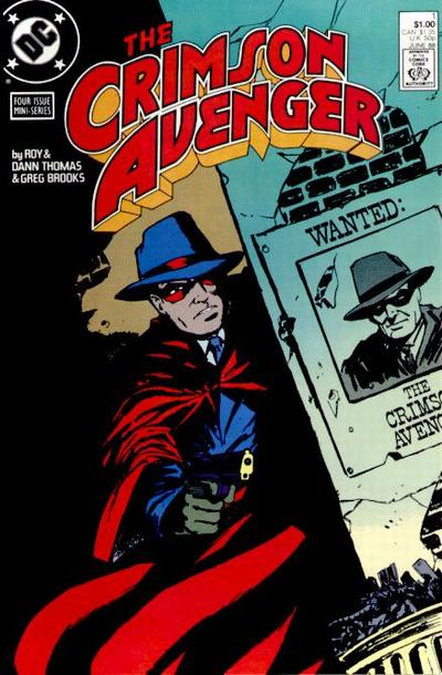 Crimson Avenger/Covers