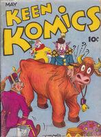 Keen Komics Vol 1 1