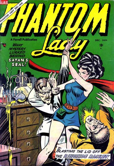 Phantom Lady (Ajax-Farrell) Vol 1 1