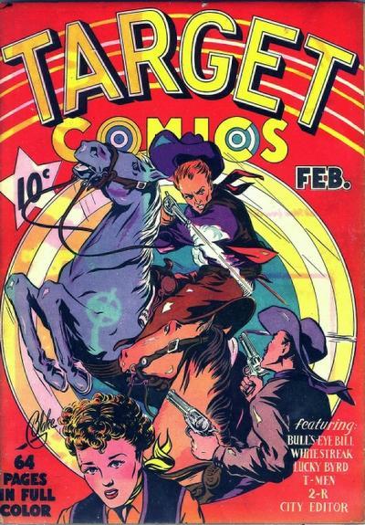 Target Comics Vol 1 1