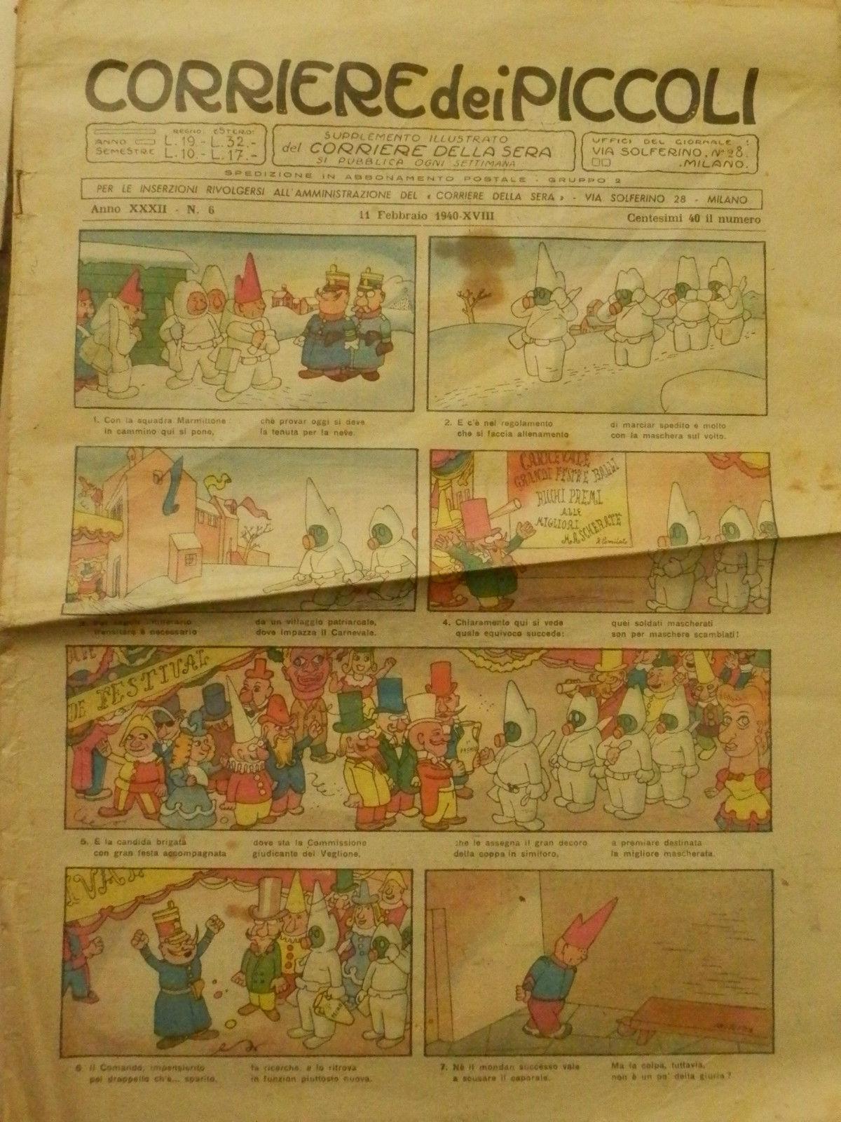 Corriere dei Piccoli Anno XXXII 6