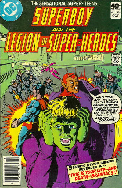 Superboy and the Legion of Super-Heroes Vol 1 256