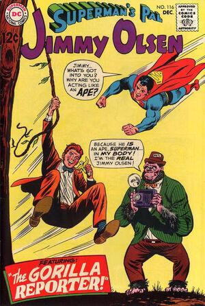 Superman's Pal, Jimmy Olsen Vol 1 116.jpg