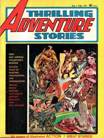 Thrilling Adventure Stories Vol 1 1