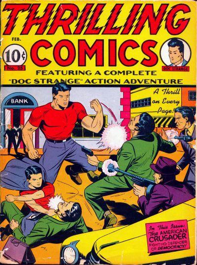 Thrilling Comics Vol 1 25