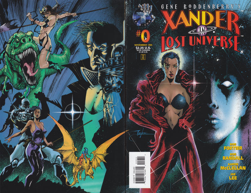 Gene Roddenberry's Xander in Lost Universe Vol 1 0