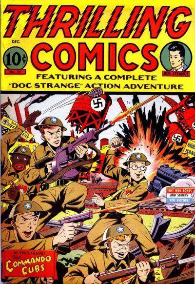 Thrilling Comics Vol 1 39