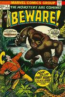 Beware (Marvel) Vol 1 1