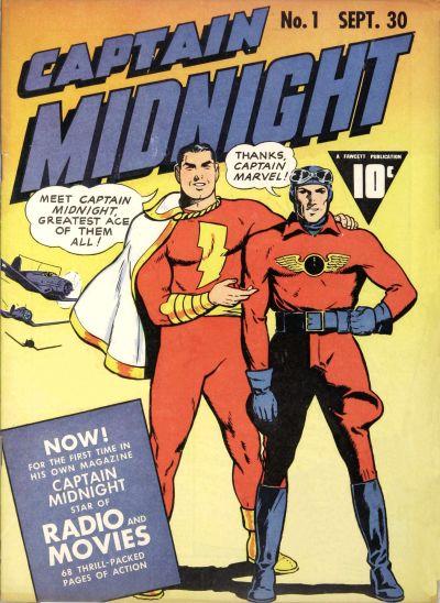 Captain Midnight Vol 1