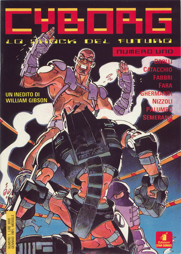 Cyborg (1991) Vol 1 1