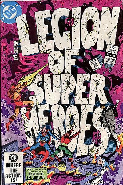Legion of Super-Heroes Vol 2 293