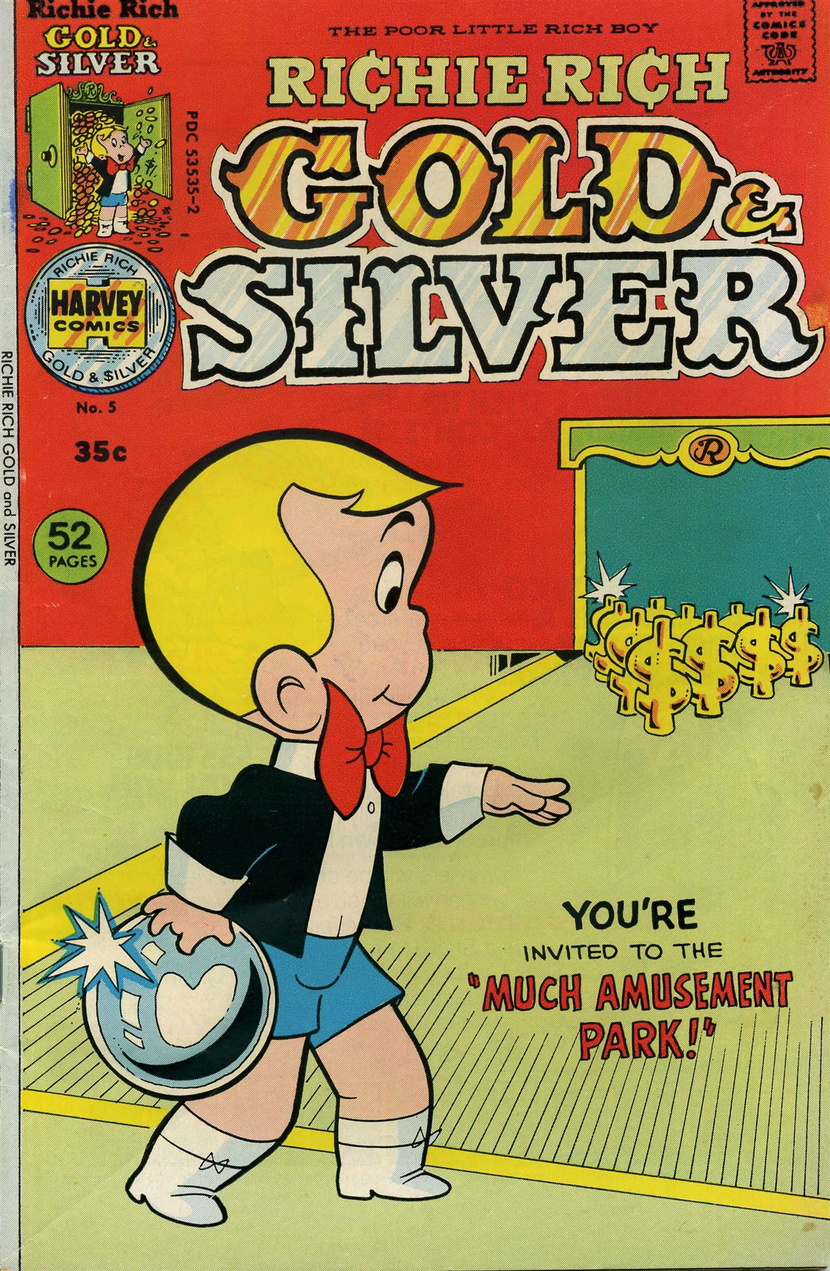 Richie Rich Gold & Silver Vol 1 5