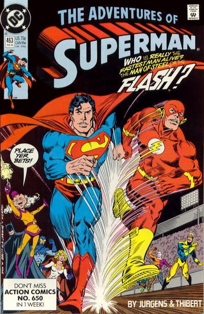 Adventures of Superman Vol 1 463