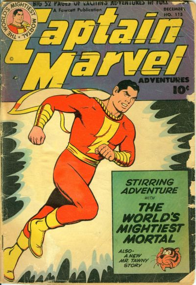 Captain Marvel Adventures Vol 1 115