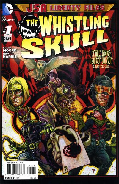 JSA Liberty Files: The Whistling Skull Vol 1