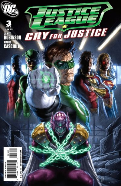 Justice League: Cry for Justice Vol 1 3