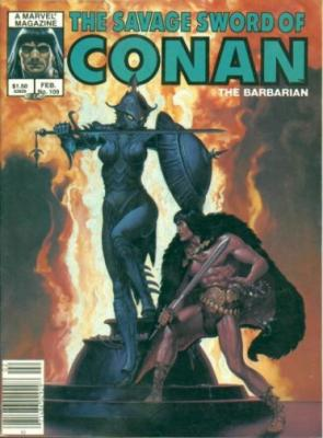 Savage Sword of Conan Vol 1 109