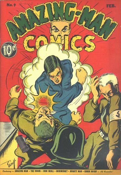 Amazing Man Comics Vol 1 9