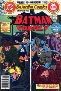 Detective Comics Vol 1 483