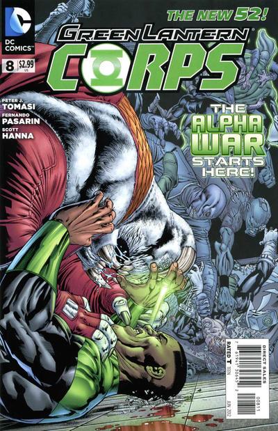 Green Lantern Corps Vol 3 8