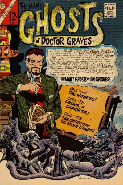 Many Ghosts of Dr. Graves Vol 1