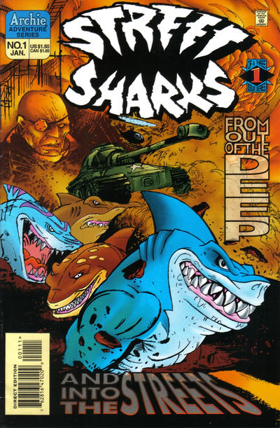 Street Sharks Vol 1 1
