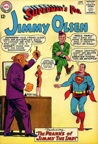 Superman's Pal, Jimmy Olsen Vol 1 74
