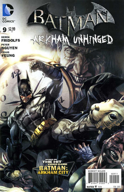 Batman: Arkham Unhinged Vol 1 9