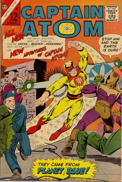 Captain Atom/Covers