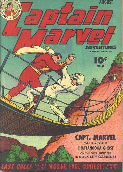 Captain Marvel Adventures Vol 1 38