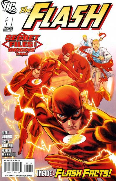 Flash Secret Files and Origins Vol 1 2010