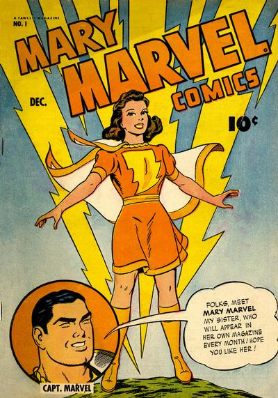 Mary Marvel/Covers