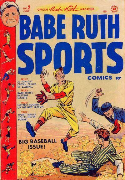 Babe Ruth Sports Comics Vol 1 2