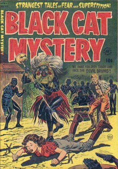 Black Cat Comics Vol 1 43