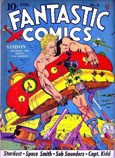 Fantastic Comics Vol 1 5