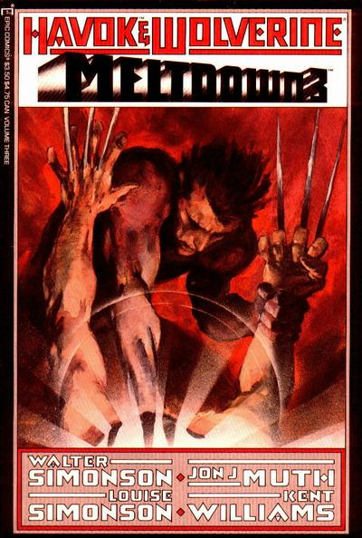 Havok and Wolverine Meltdown Vol 1 3