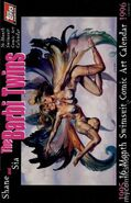 Shane and Sia The Barbi Twins 16-Month Swimsuit Comic Art Calendar