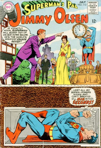 Superman's Pal, Jimmy Olsen Vol 1 112