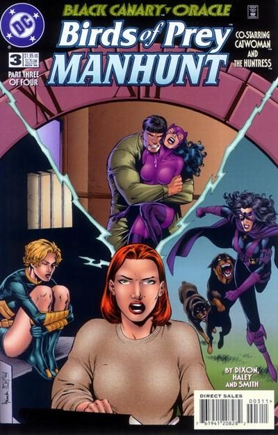 Birds of Prey: Manhunt Vol 1 3