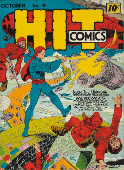 Hit Comics Vol 1 4