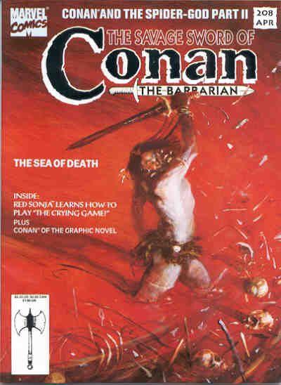 Savage Sword of Conan Vol 1 208