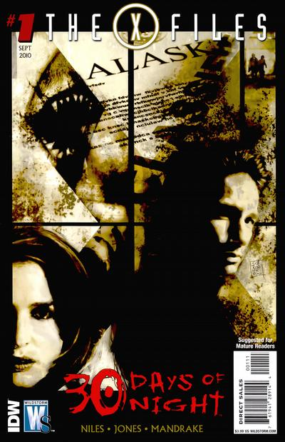 X-Files/30 Days of Night Vol 1 1